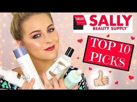 TOP 10 FAVORITE PRODUCTS | Sally's Beauty Supply