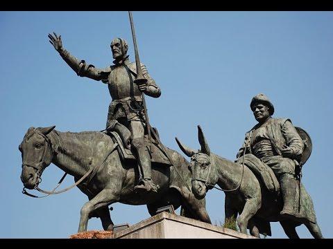 Don Quichotte et Sancho Pança dans le monde d\'aujourd\'hui - YouTube