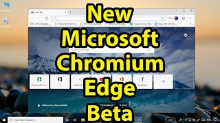 How to install chromium edge browser on windows 10 videos