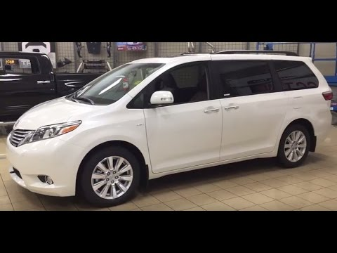 2017 Toyota Sienna Limited Awd Review