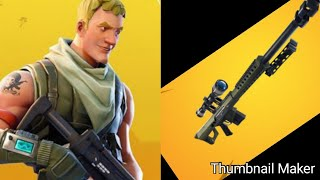 New Montage clip🔴Heavy sniper🔴 won't regret watching it (fortnite battle royal)