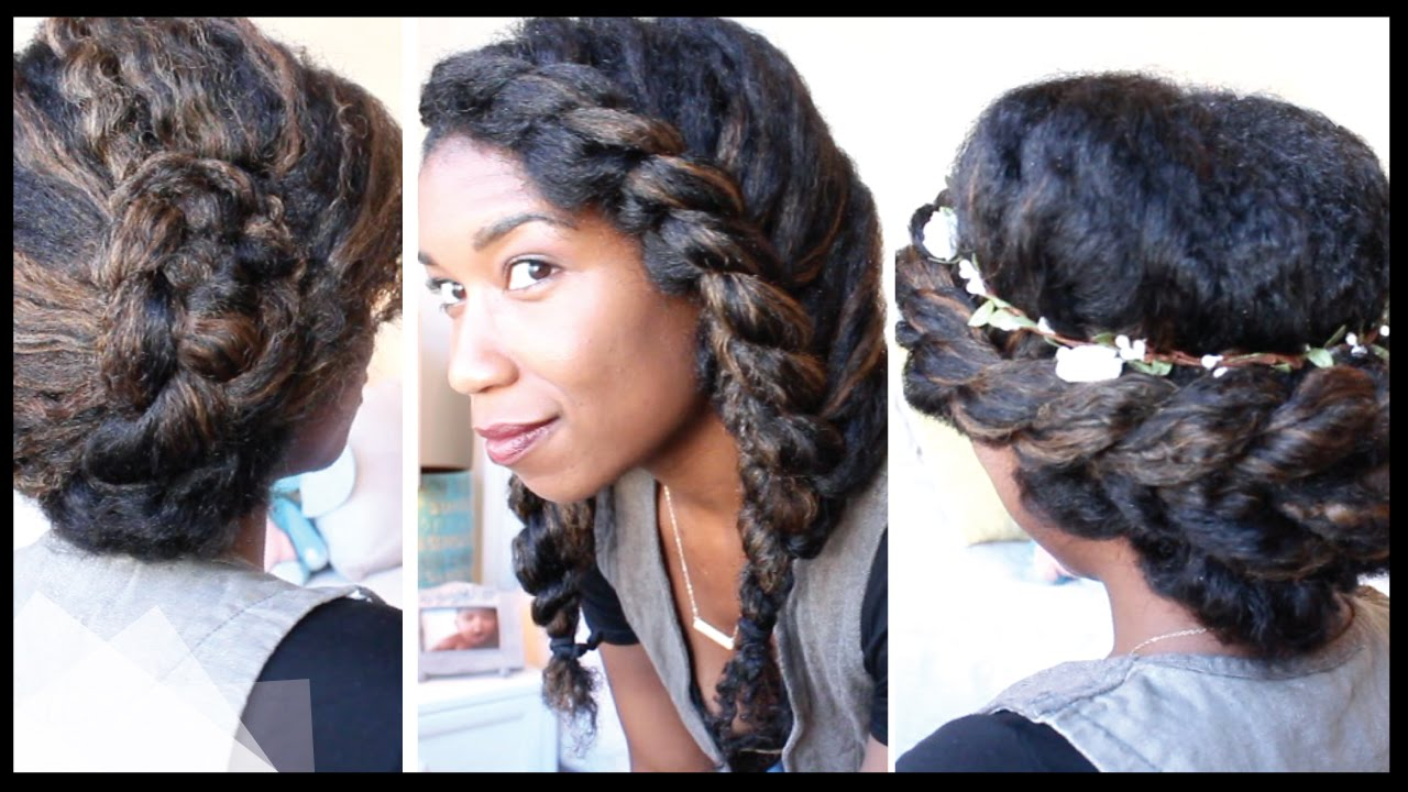 3 Cute + Chic Last Minute Natural Hairstyles | Naptural85
