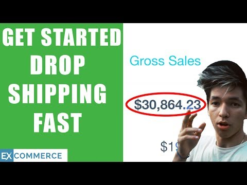 HOW TO GET STARTED DROP SHIPPING ON SHOPIFY FAST (1-5 DAYS) thumbnail