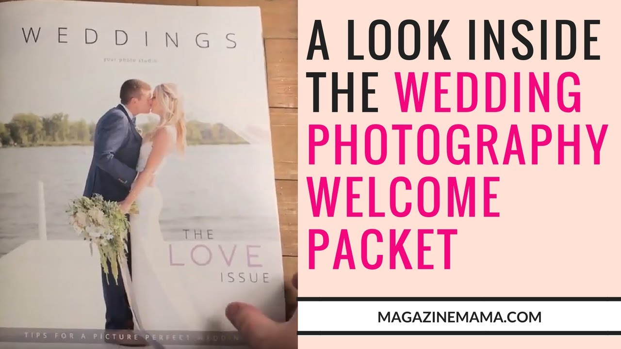 Weddings Welcome Guide Magazine Template The Love Issue By Mama
