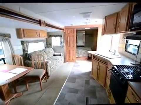 5th Wheel Trailers >> 2008 Sunnybrook Brookside 301RBS Travel Trailer RV 13618
