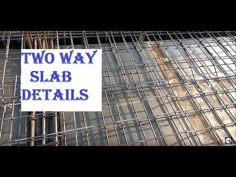 two way slab full detail explanation diagrams with site | watch in HD