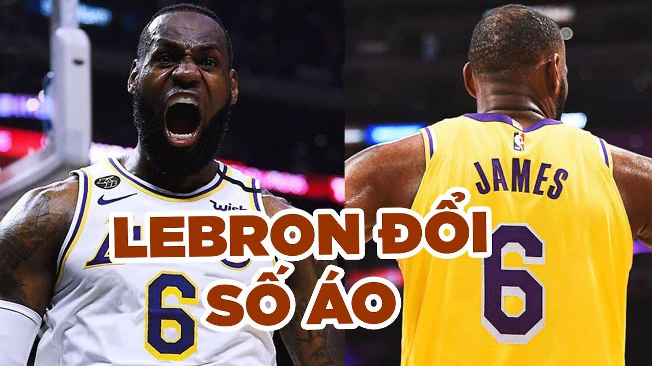 LeBron James sẽ đổi số áo, quyết theo đuổi con số ưa thích từ thời Miami Heat