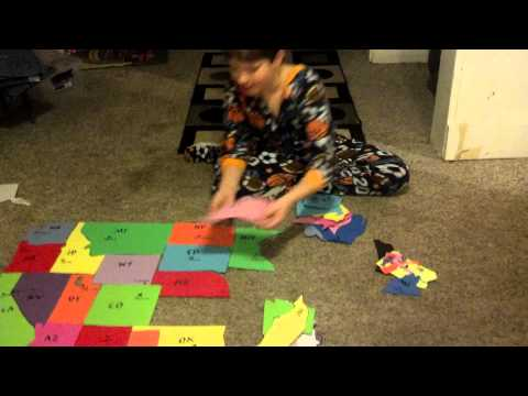 Dylan Videos - Homemade USA Puzzle