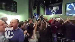 Villanova Beats U.N.C. at Buzzer — Fan Reaction | 360 VR Video | The New York Times
