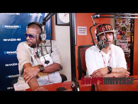 Diamond D and AG Reminisce and Weigh in on Hip Hop on Sway in the Morning