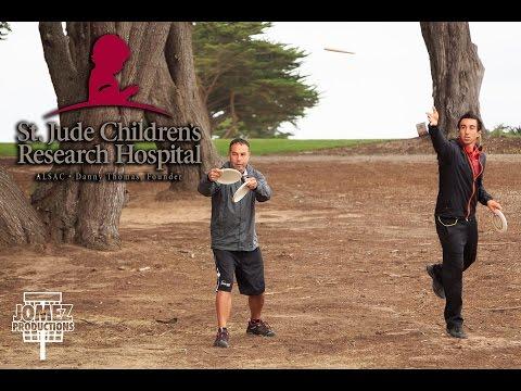 St. Jude Disc Golf Charity Invitational Round 1 | McBeth, Barsby, Rico, Feldberg