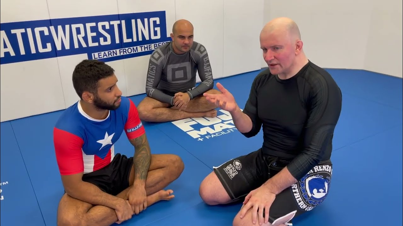 How To Attack And Counter Attack From No Gi Open Guard by John Danaher