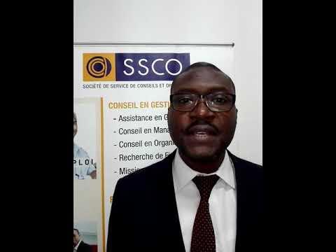 DJOHOU KOBENAN DG du cabinet SSCO parle de leurs programmes Certifiants