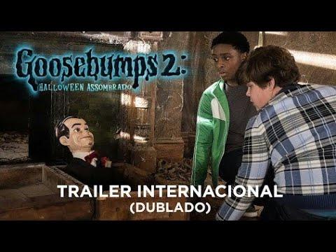 Goosebumps  Halloween Assombrado Trailer Interna Dub