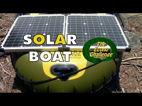 Solar Powered Boat - Econo Challenge