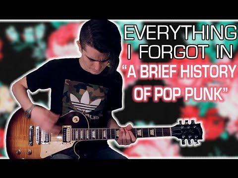 A History of Pop Punk: Bands I Forgot w/ Tabs