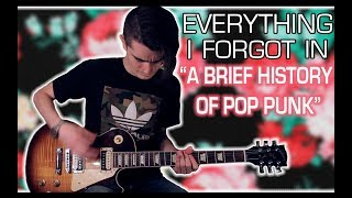 A History of Pop Punk: Bands I Forgot w/ Tabs