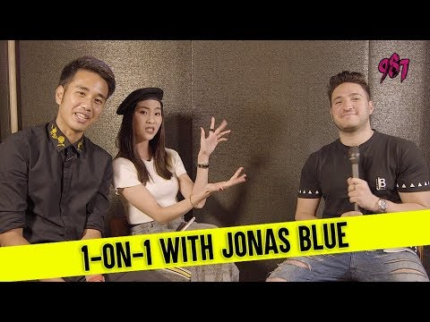 987 Interviews Jonas Blue!