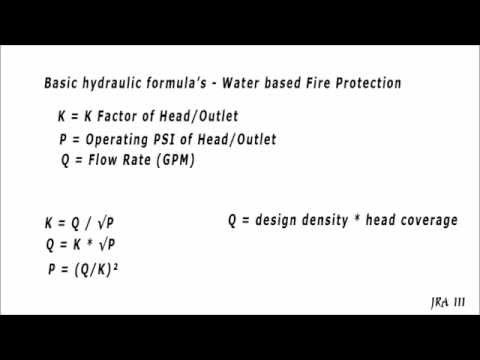Hydraulic Review NICET I YouTube