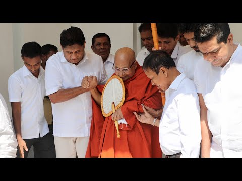 'Siri Sadaham Setha' Poya Day program at Opposition Leaders office Colombo