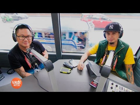 "Q-York performs ""Mainit"" LIVE on Wish 107.5 Bus"