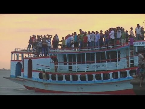 Bangladesh ferry capsizes with 200 passengers aboard