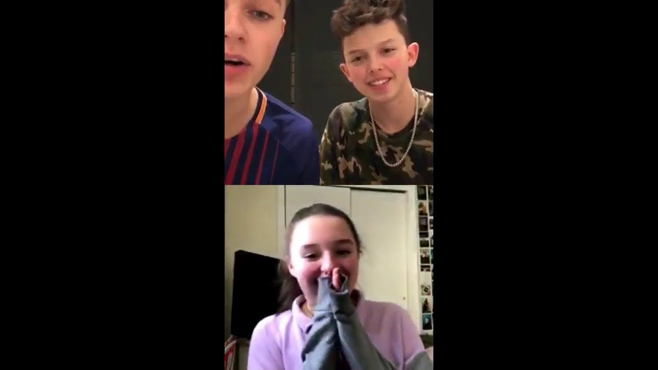 Download Jacob Sartorius Livestream with an emotional fan and her mom