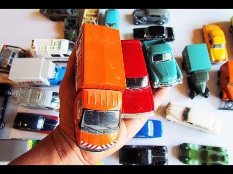 Открываю коробку с машинками модельками ГАЗ масштаб 1/43. Распаковка и обзор!