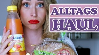 VERRÜCKTER MIX! Was man halt alles so braucht - Food, Make-up, Fashion -  ALLTAGS HAUL