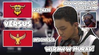 Akhirnya Wiraww Make MURAD! Indonesia VS Vietnam Match 2! AWC Bootcamp