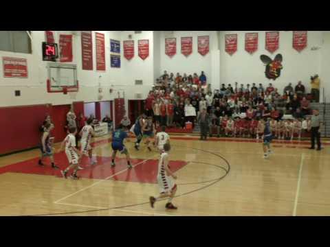 Boys Varsity Basketball Baldwinsville VS Cicero North Syracuse High 1/17/2017