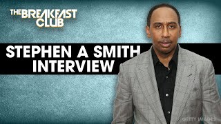 Stephen A Smith Talks LeBron James, Women In Media, HBCU Week + More