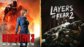 Layers Of Fear 2 - gameplay Y Resident Evil 3 - Speedrun Any% - En Español