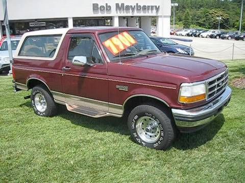 1996 Ford Bronco Eddie Bauer Start Up Engine And In