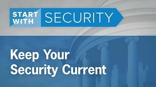 Keep Your Security Current | Federal Trade Commission