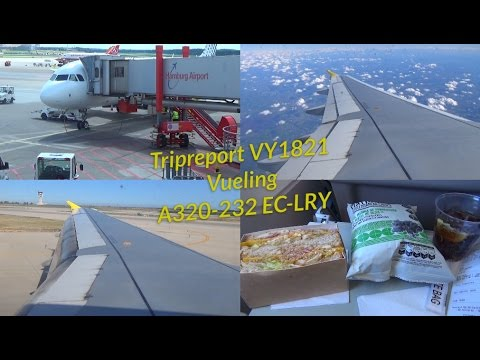 Tripreport Vueling VY1821 Hamburg-Barcelona