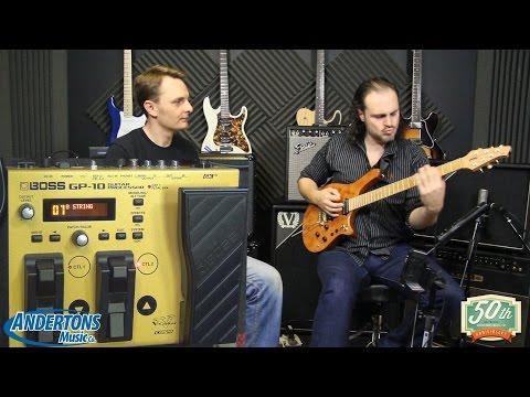 Boss GP-10 Guitar Processor Demo with Alex Hutchings & the Capt