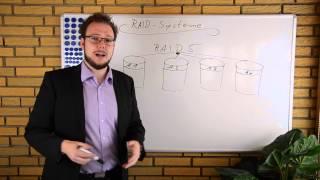 Erklärung des RAID-Levels RAID5 (deutsch)