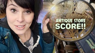 Antique Shopping SCORE! | Mid Century Vintage, Antique Lighting, Celluloid | Buying & Reselling