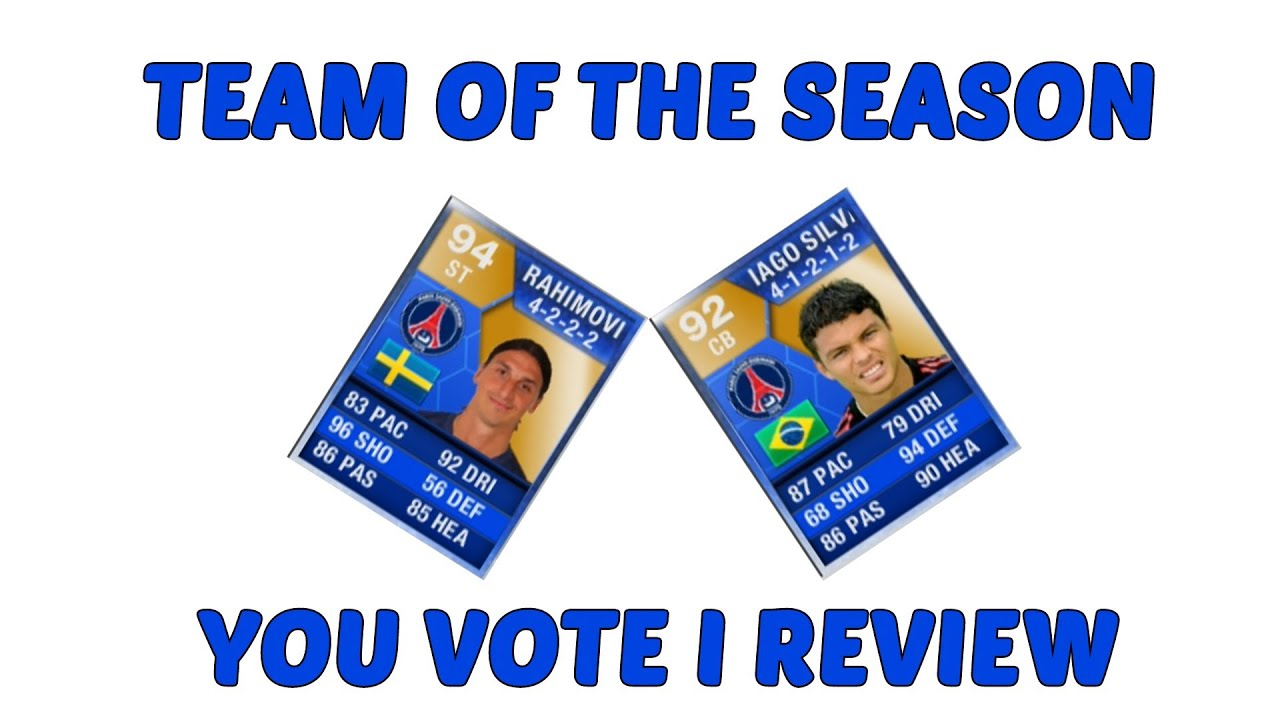 FIFA 13 Team Of The Season - Who to Review?? - YouTube  Fifa 13 Team Of The Season