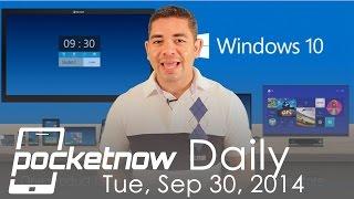 Windows 10 announced, iOS 8 future, Galaxy Note 4 Gapgate & more - Pockentow Daily