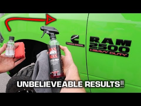 HOW TO Ceramic Coat Your Car / Truck!! *NEVER WAX AGAIN*