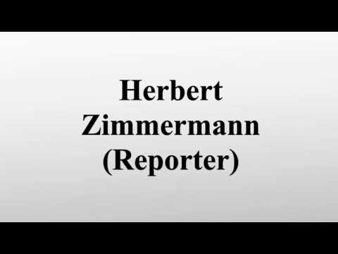 Herbert Zimmermann (Reporter)