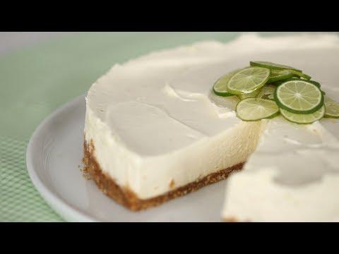 Key Lime No-Bake Cheesecake- Sweet Talk With Lindsay Strand