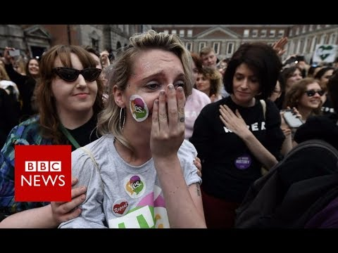 Irish abortion referendum: 'We made history' - BBC News