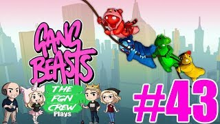 PIXIES FIRST WIN | GANG BEASTS GAMEPLAY #43