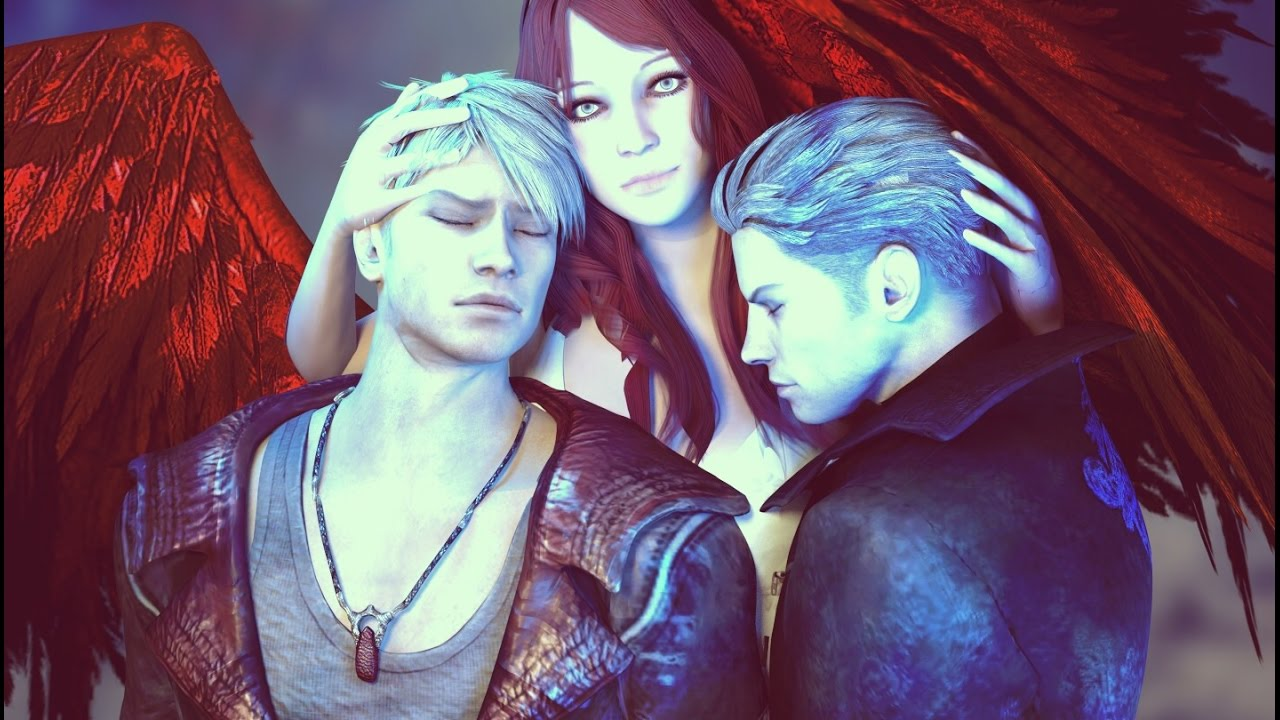 Devil May Cry 2018 Dante Vergil And His Mother SAD