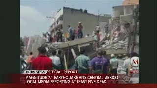 Special Report: Earthquake Hits Mexico thumbnail