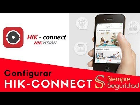 Configurar Hik-Connect - IVMS 4500 - Hikvision  (celulares y PC)