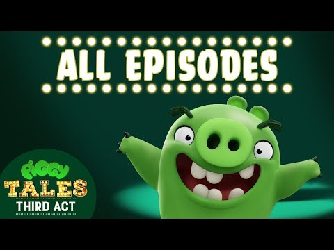Angry Birds | Piggy Tales | Third Act - All Episodes Mashup
